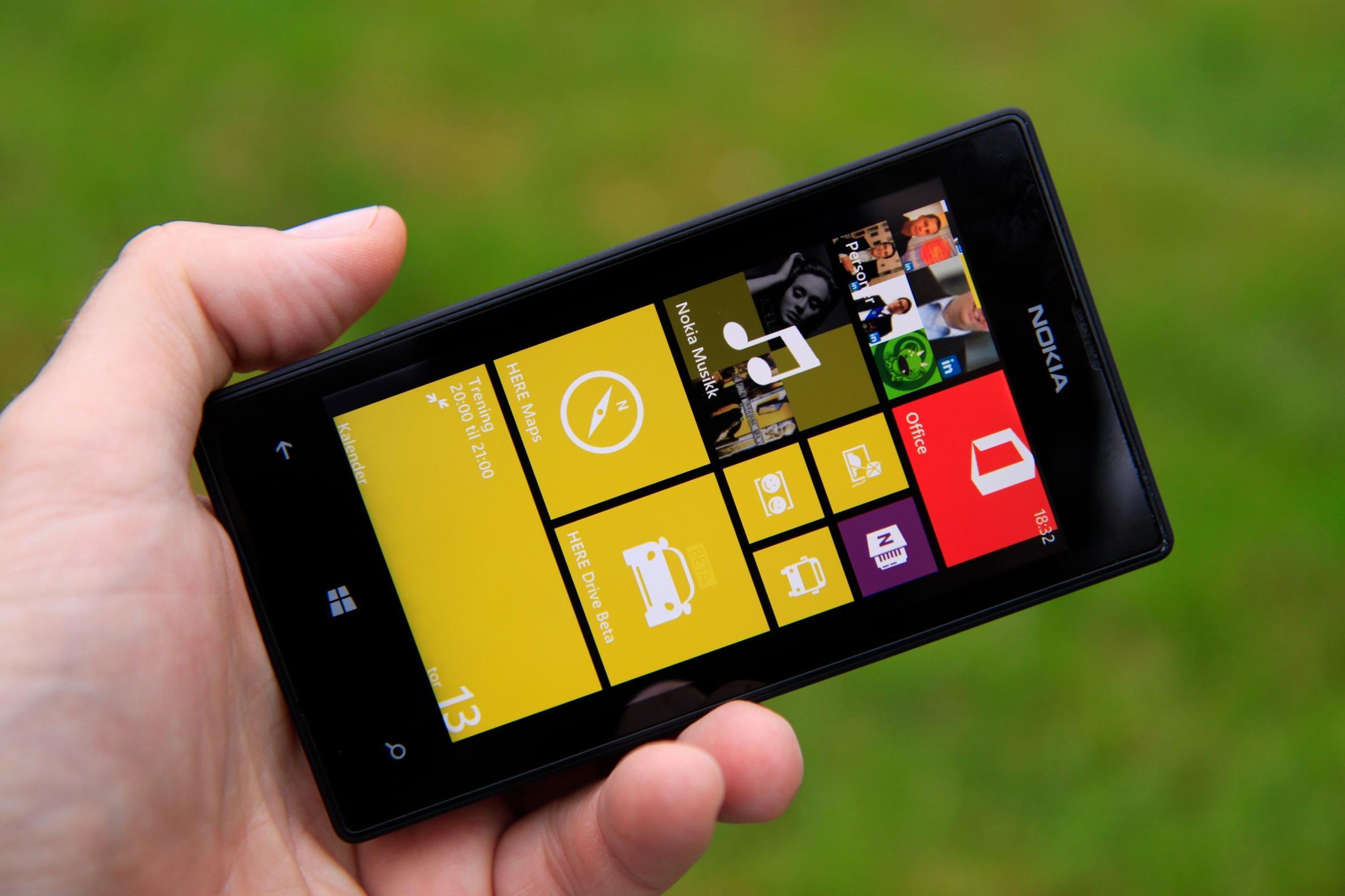 Nokia Lumia 520.Foto: Kurt Lekanger, Amobil.no