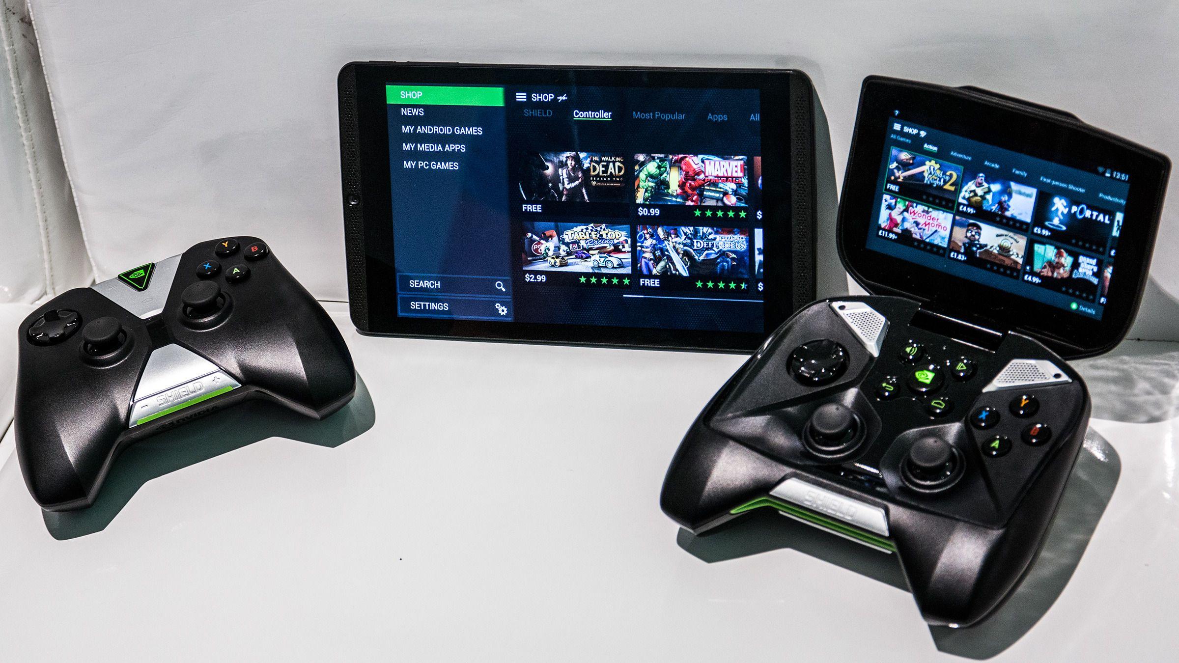 Sammenliknet med bestefar Shield, har Shield Tablet en rekke finesser vi tror vi kan sette pris på.Foto: Varg Aamo, Hardware.no