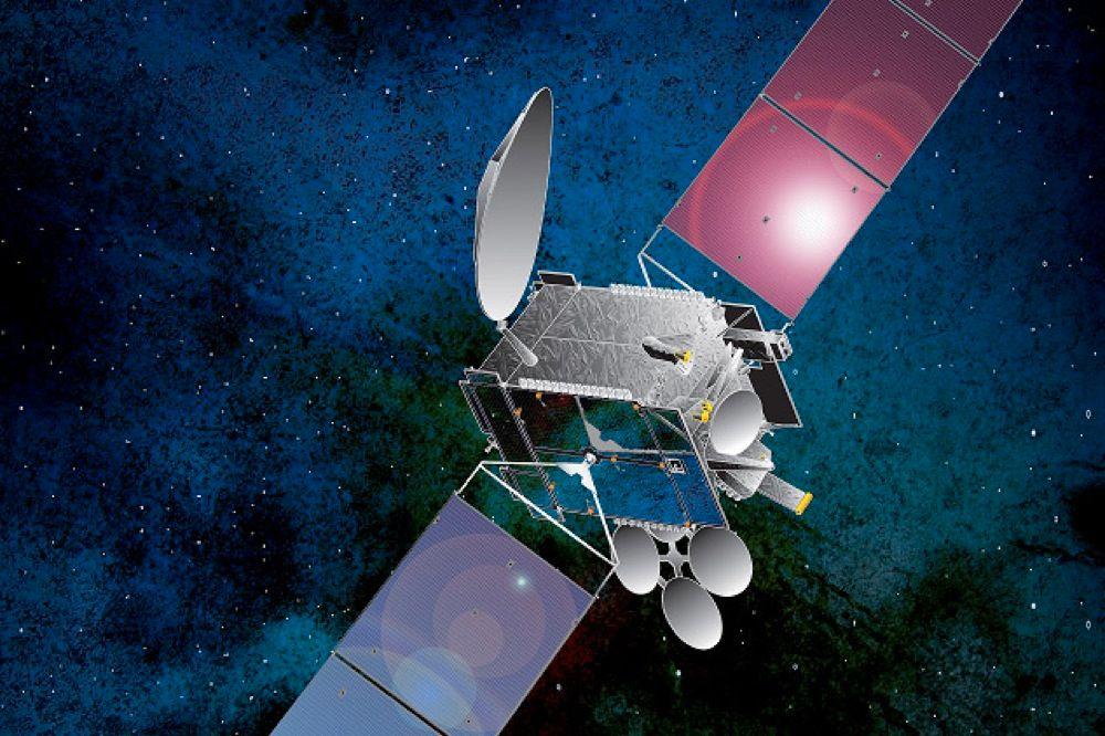 Slik vil THOR7 se ut i bane rundt jorda. Foto: Illustrasjon Telenor.no