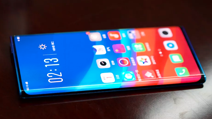 Oppo avslører mobil med ekstrem skjerm
