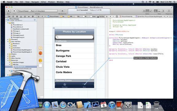 Xcode er basert på Objective C. Du finner mange opplæringsvideoer på nettet.