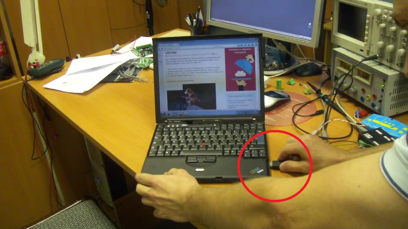 «USB Killer» kan snart komme til en PC nær deg