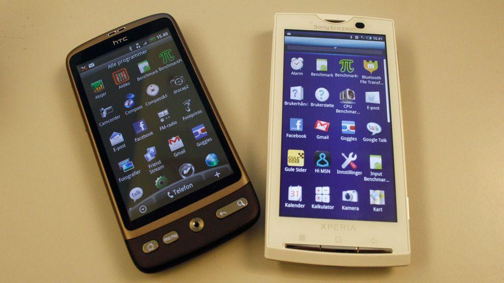 Test: HTC Desire – Lett å bli glad i Test Tek.no