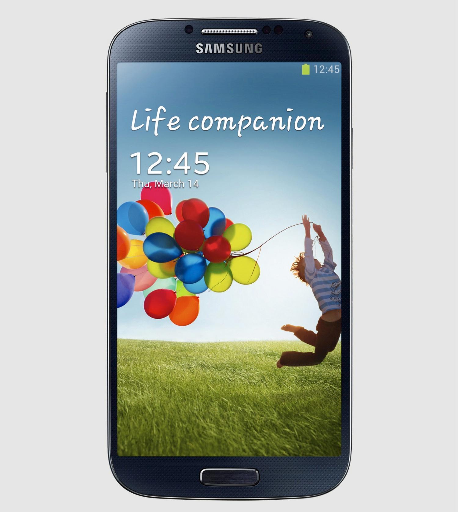 Samsung Galaxy S4 er bygget i en slitesterk plastvariant kalt polykarbonat.Foto: Samsung