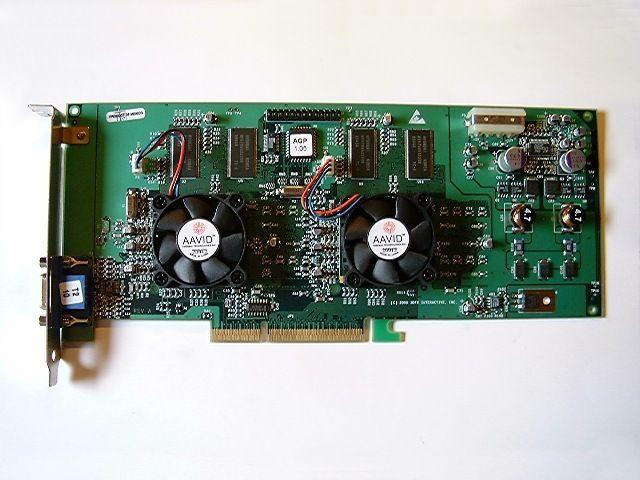 Voodoo 5 5500 kostet rundt 3100 kroner, og var det nest råeste skjermkortet i sin serie. Det hadde hele 64 MB RAM, og passet i datamaskinens AGP-spor.