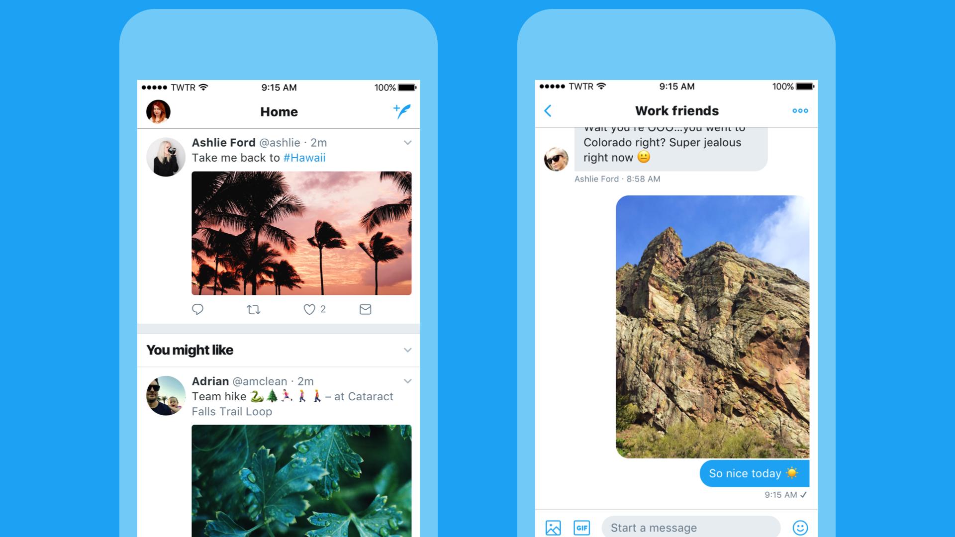 Twitter får en visuell overhaling