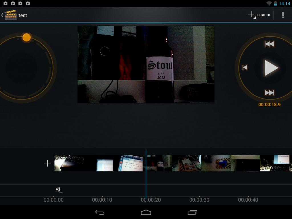 Filmrull er blant de appene som egentlig er tilpasset bredskjerm, men funger likevel bra.