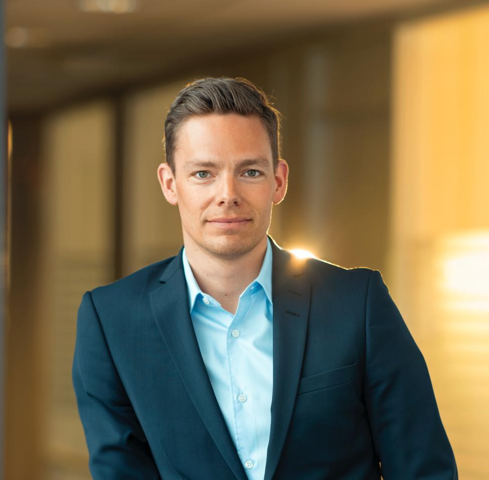 Sebastian Eidem, kommunikasjonssjef i Get TDC