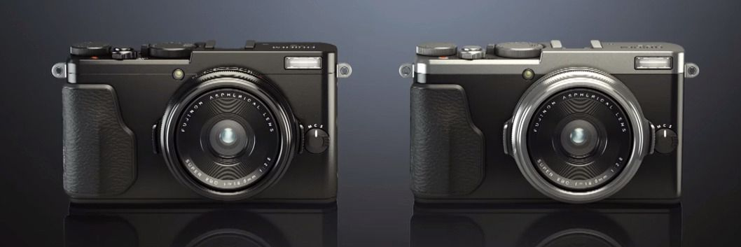 X70 er uten zoom, så du får mindre kontroll over perspektivet.