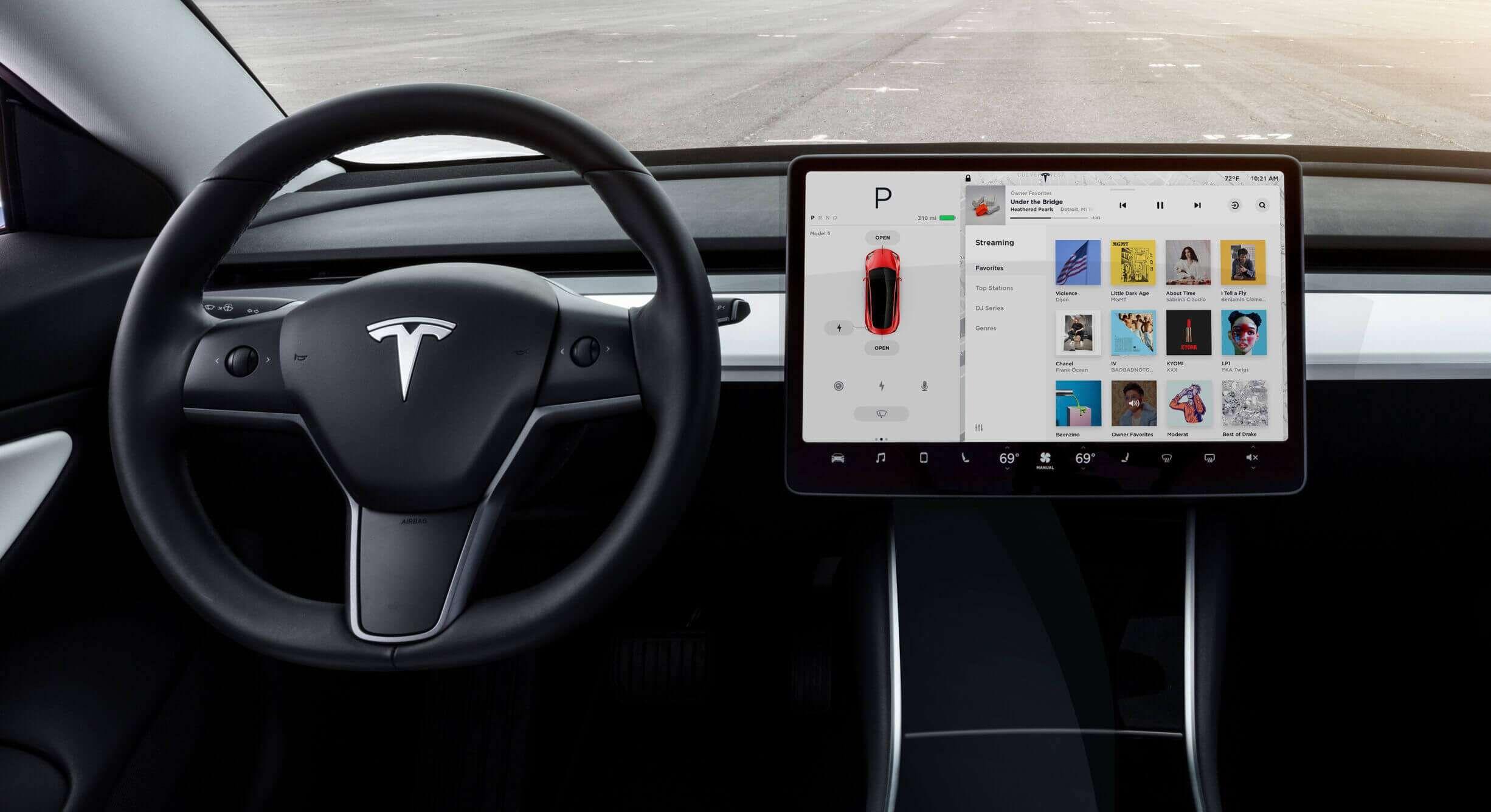 Stor Tesla-oppdatering sluppet i USA