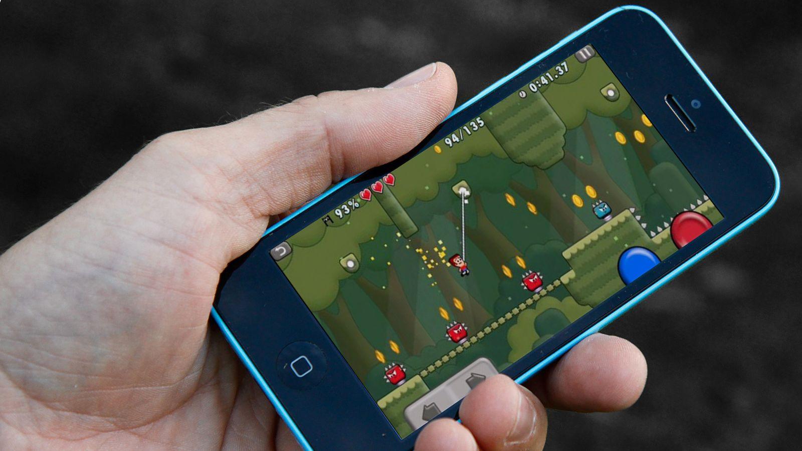 Apper til Android og iOS