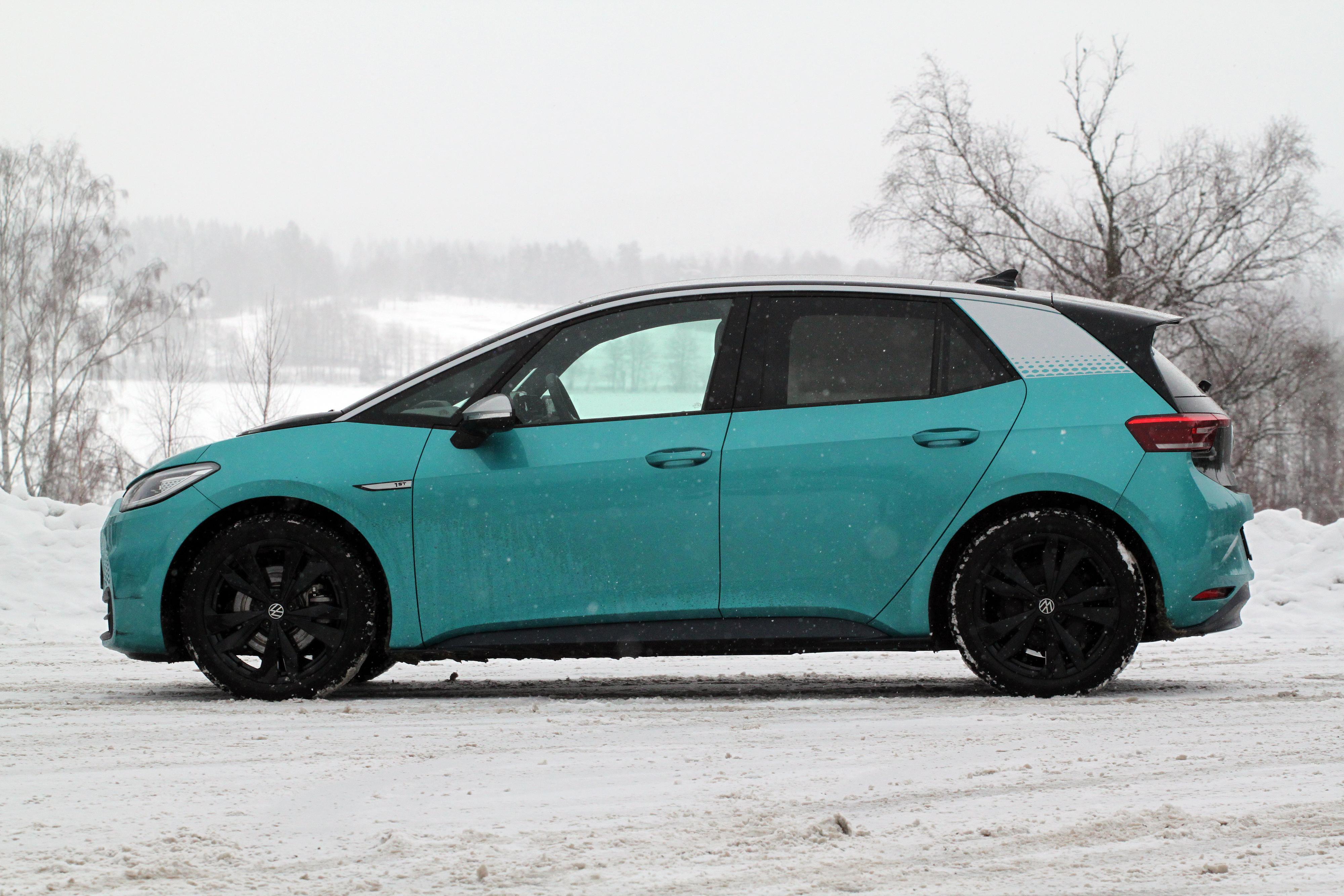 HARD BREMS: Volkswagen er kjent med fire tilfeller av bremsefeil på elbilen ID.3.