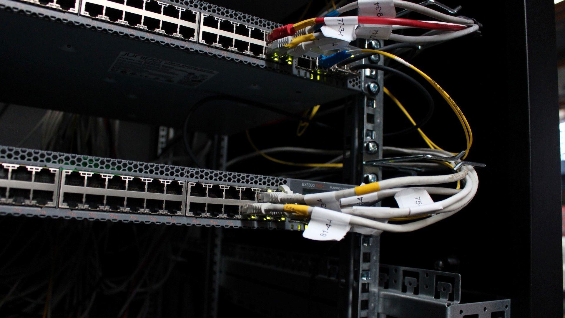 Det kablede nettverket var også på stell, som du kan lese mer om i saken om nettopp nettverket på TG som vi publiserer i løpet av dagen.