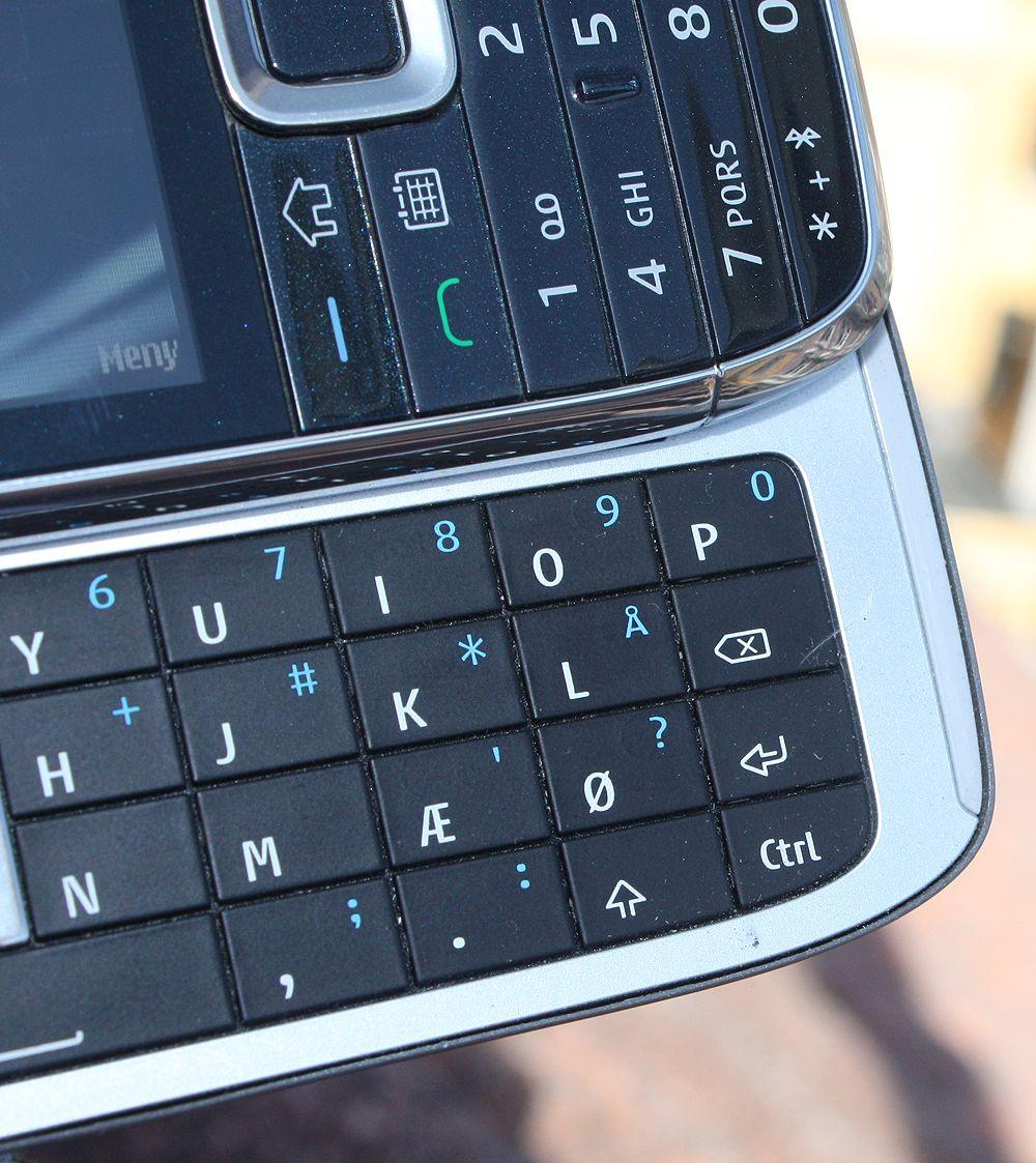 """""""Å"""" må dele plass med """"L"""" på tastaturet."""