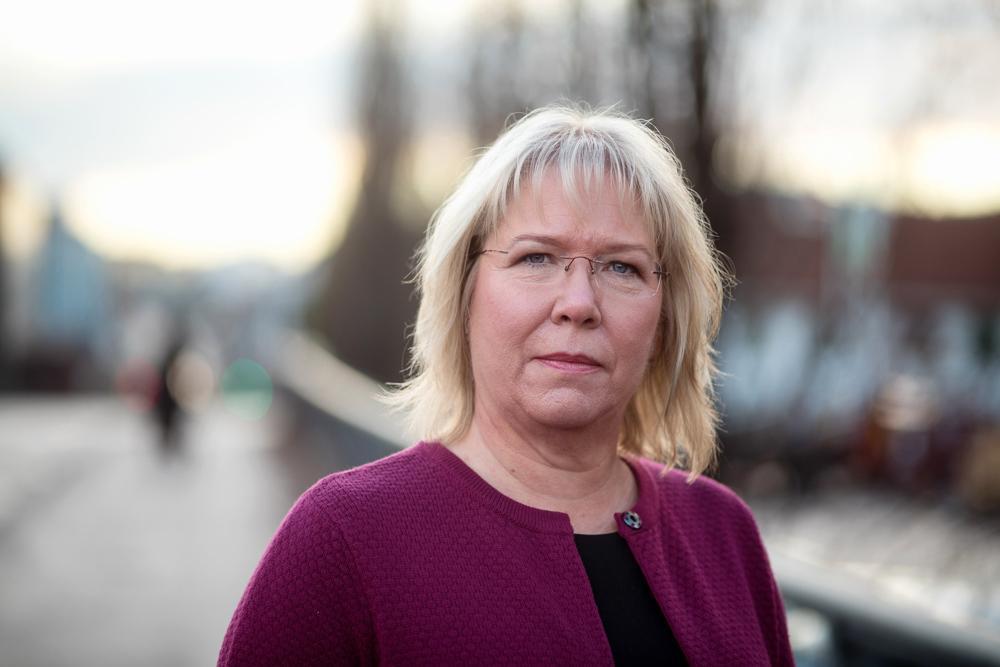 Nestleder Bente Øverli i Forbrukertilsynet sier at å kalle 1000 GB i måneden for «fri data» på nåværende tidspunkt er greit.