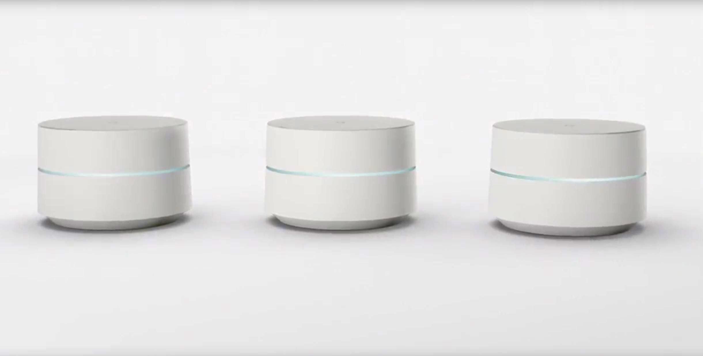 Google Wifi er små wifi-bokser som skal gi deg et sømløst nett og god dekning i alle områder av huset.
