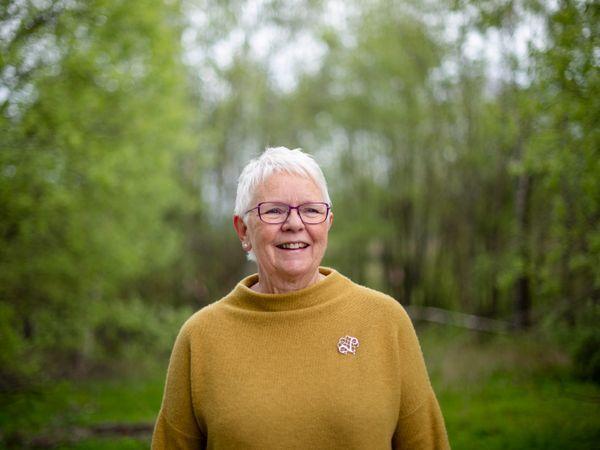 AKTIV: Toril Naper Hauge meldte seg inn i Pensjonistforbundet fordi hun mener det er viktig med en stor organisasjon som har påvirkningskraft.