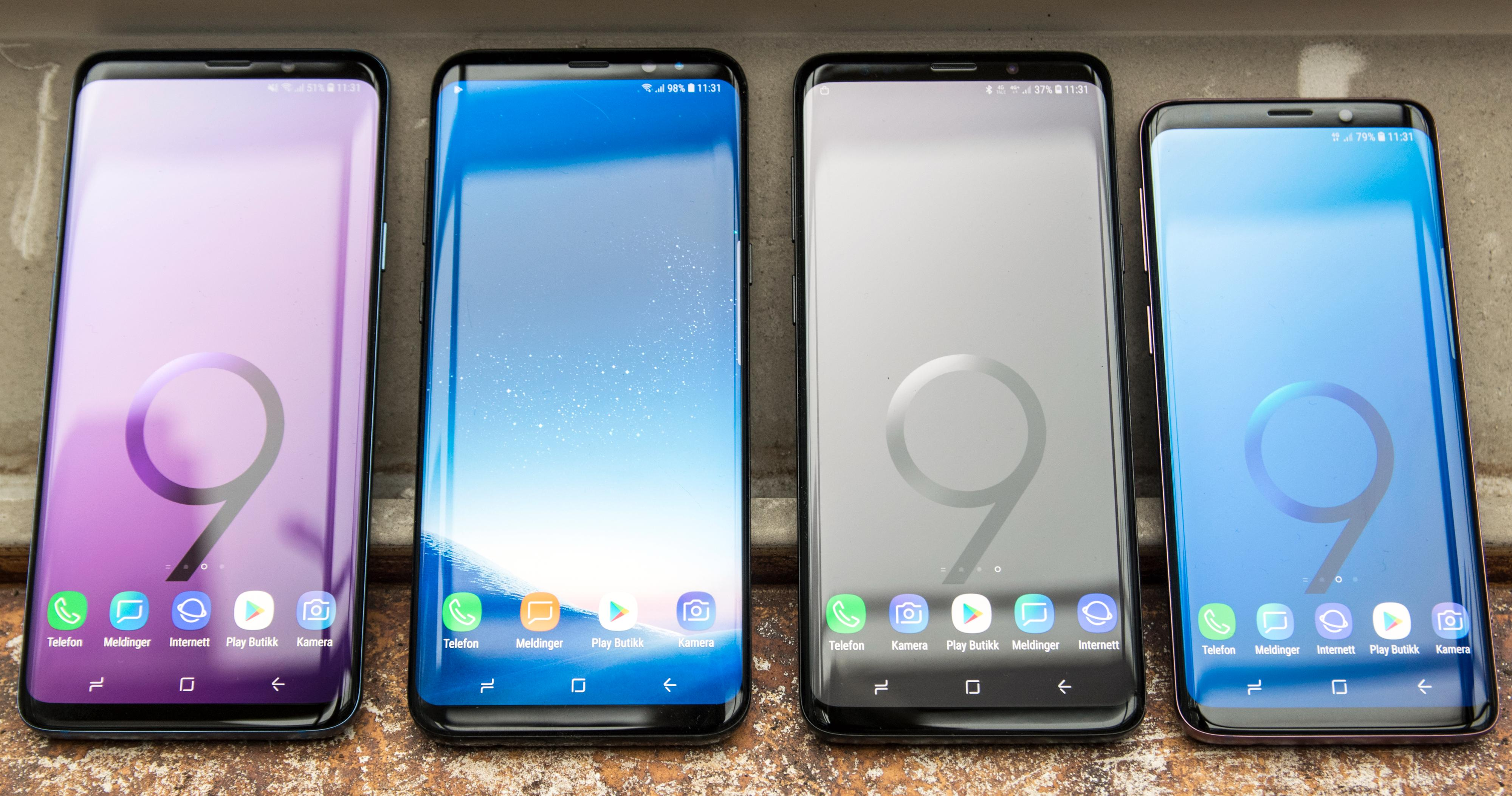 Samsung Galaxy S9 solgte ikke så godt som Samsung hadde håpet. I andre kvartal gikk selskapets mobilsalg ned 10 prosent.