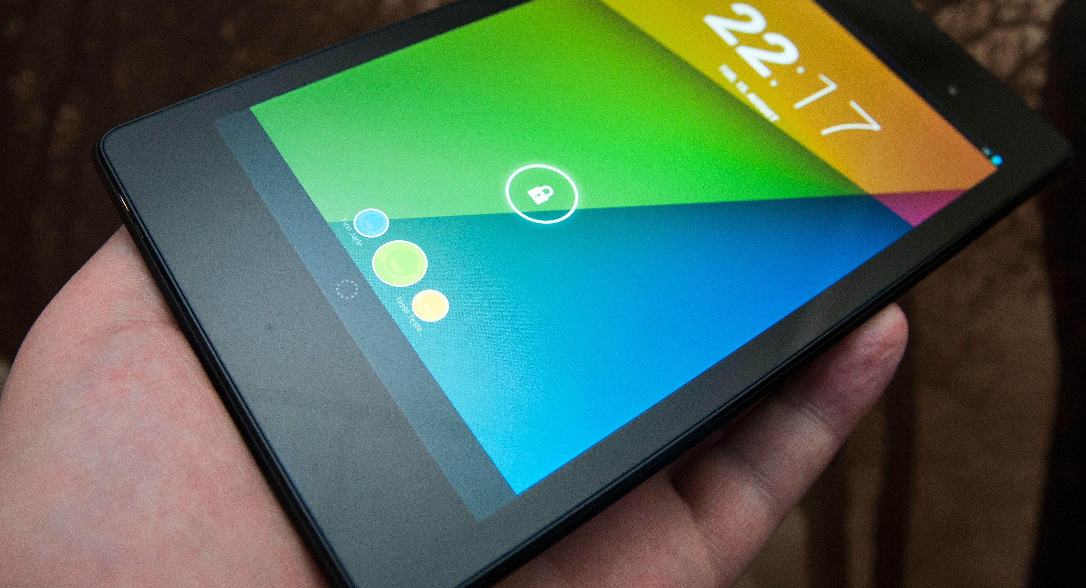 Dette er 2013-versjonen av Nexus 7, som tilsynelatende nå blir oppgradert på nytt.