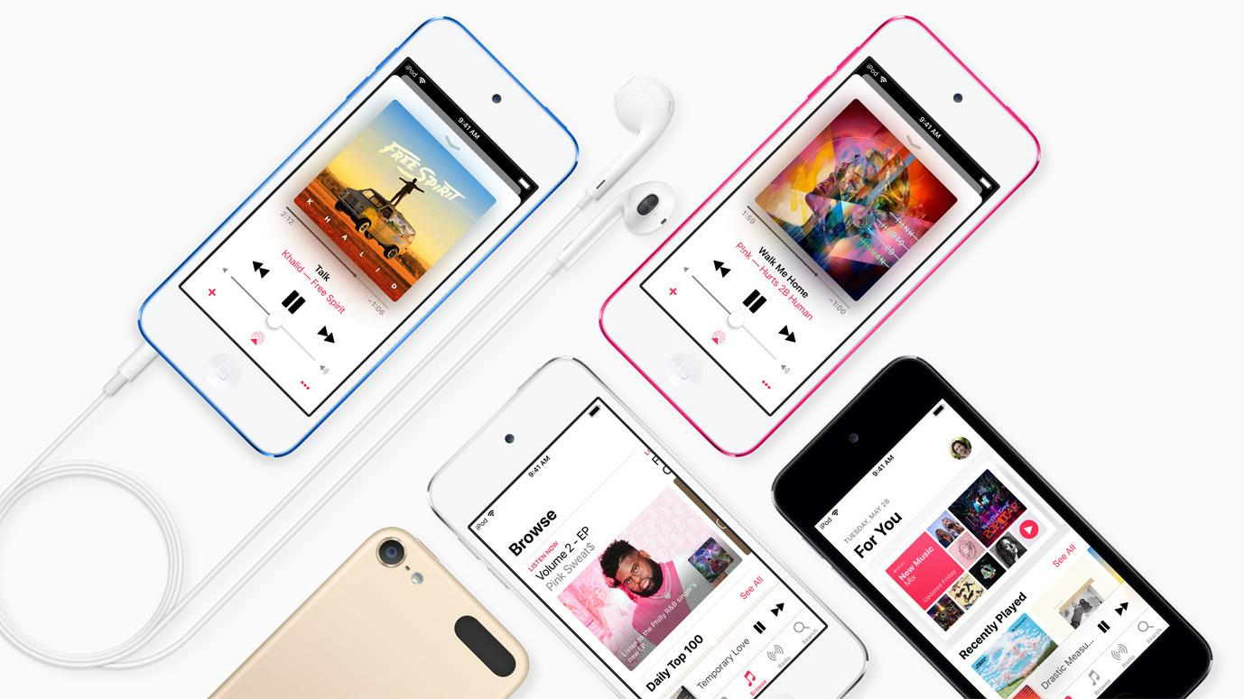 Apple har sluppet sin syvende generasjon iPod touch