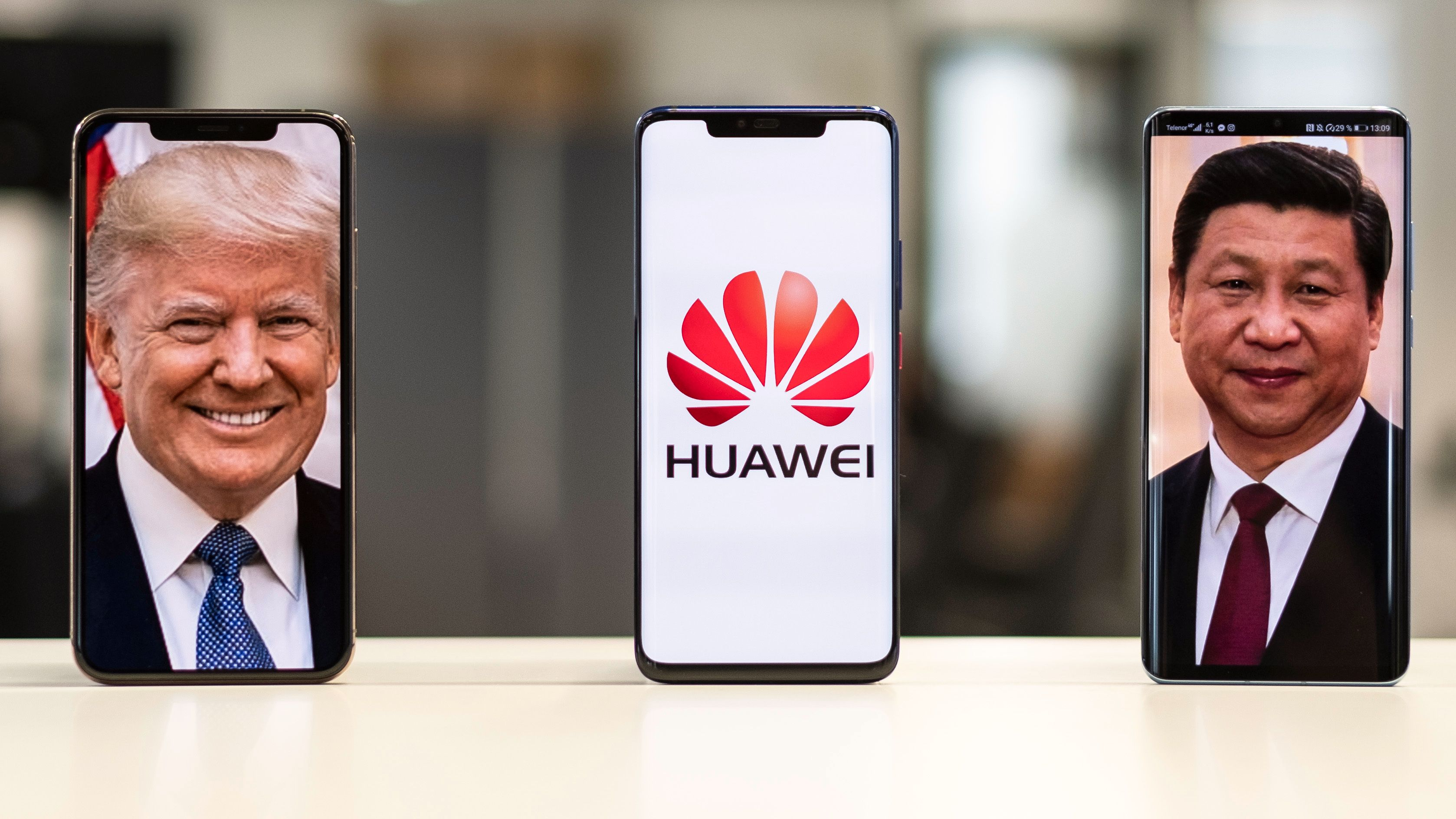 Nå ligger Huawei tynt an ... igjen