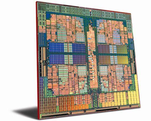 Phenom i første generasjon lages med 65 nm-teknologi