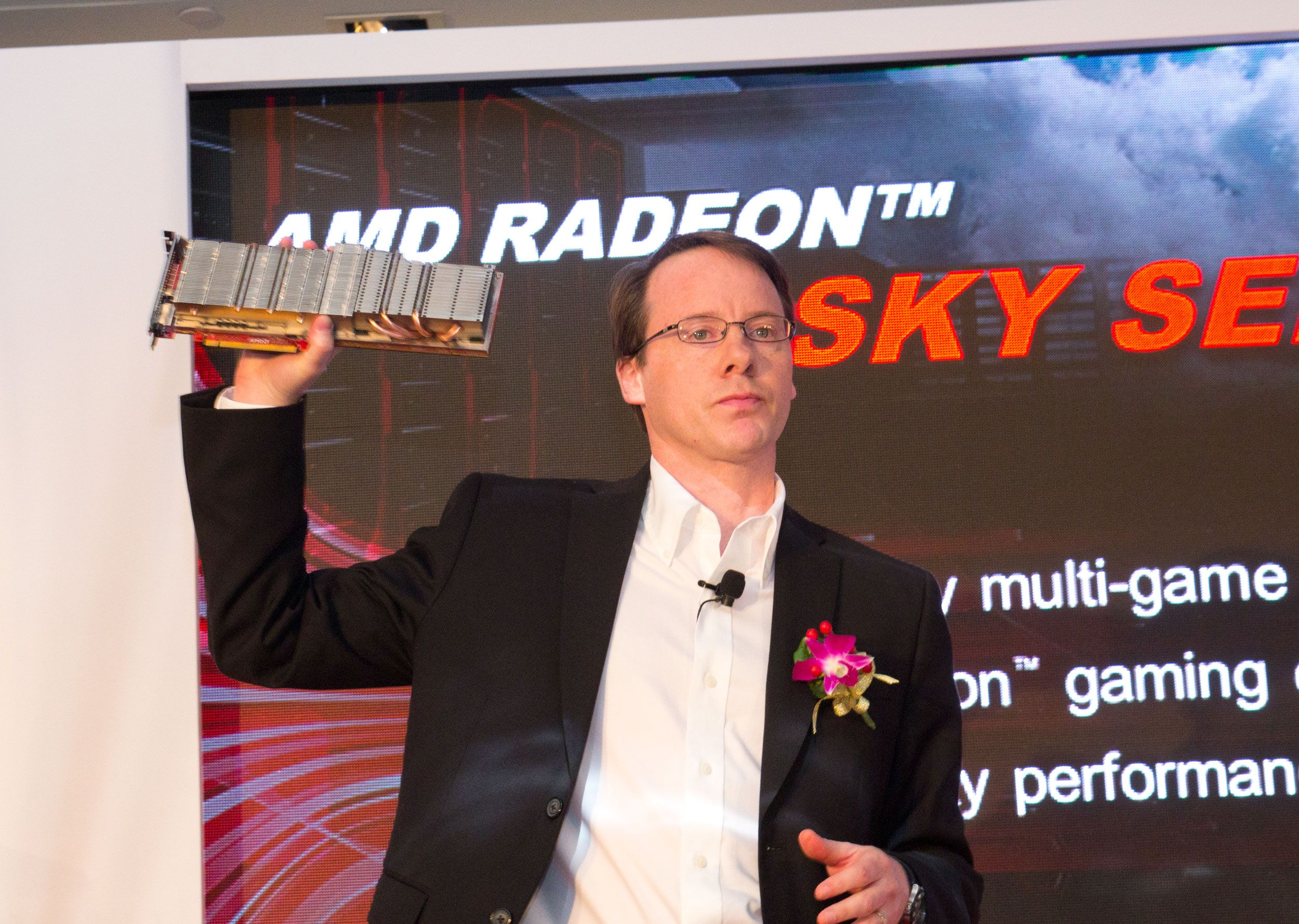 Radeon Sky Series, for spilling i skyen.