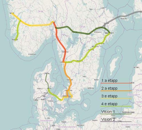 Interessegruppen for svevetog i Norden drømmer om å binde sammen Norge, Sverige og Danmark med tog som kjører i opptil 500 kilometer i timen.