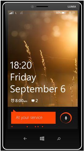 Dette skal være en tidlig visualisering av hvordan Lumia 1820 vil se ut.
