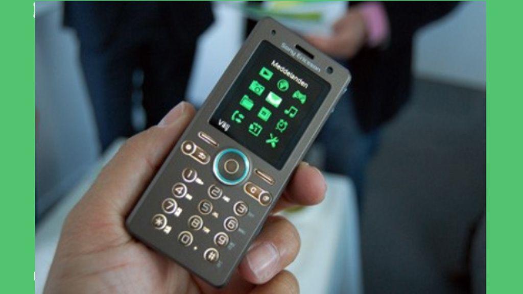 Øko-mobiler fra Sony Ericsson