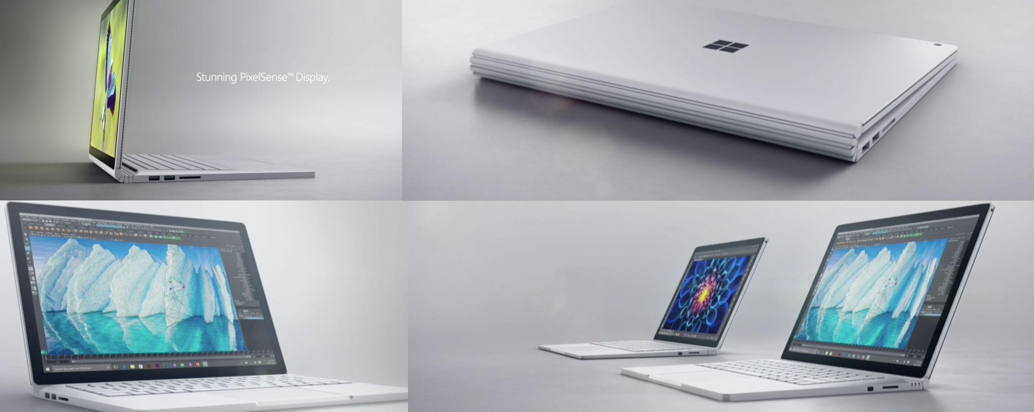 Slik ser nye Surface Book ut. Bilde: Microsoft