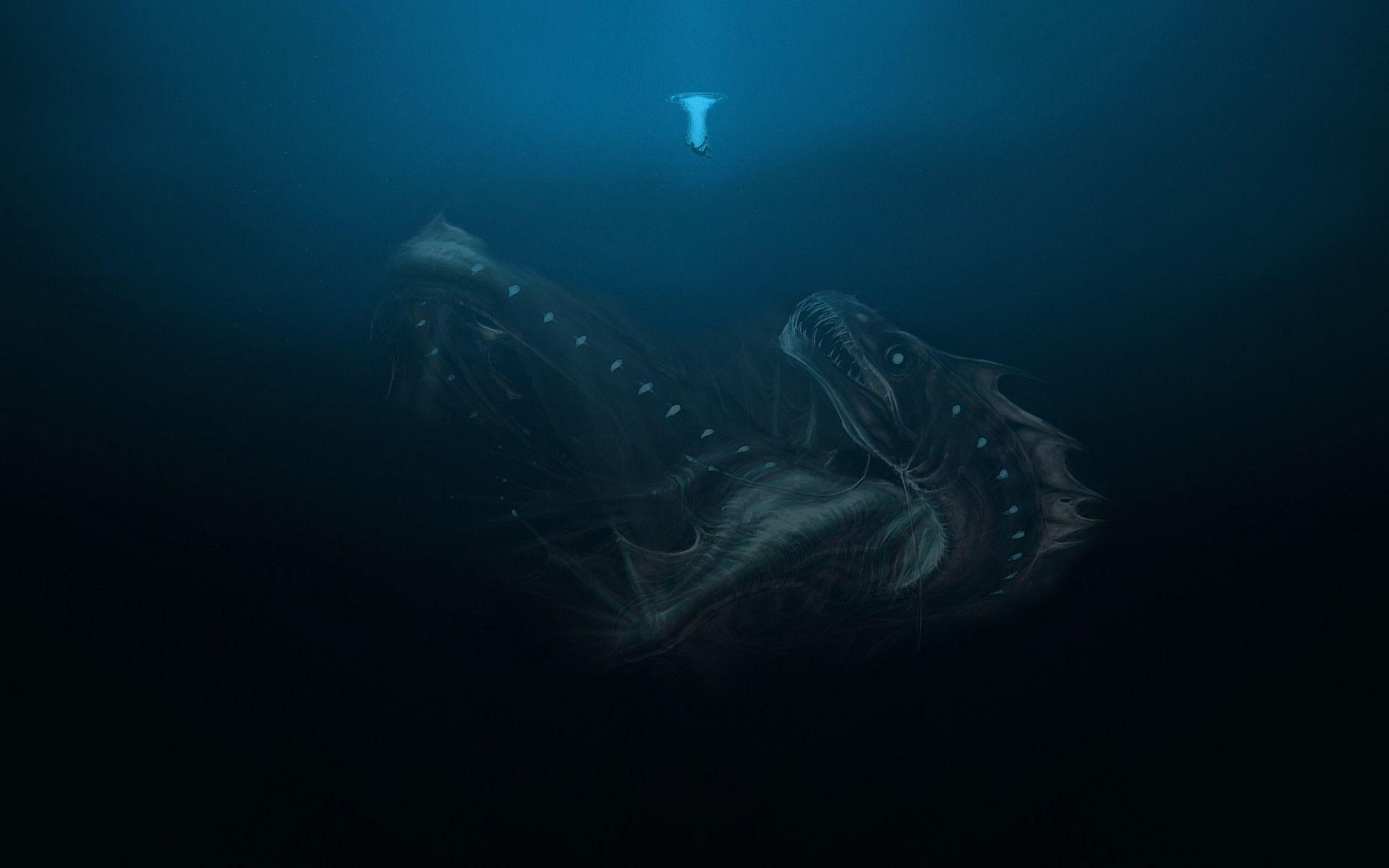 Kraken har potensiale, men er nok skumlest for folk som i utgangspunktet har vannskrekk.