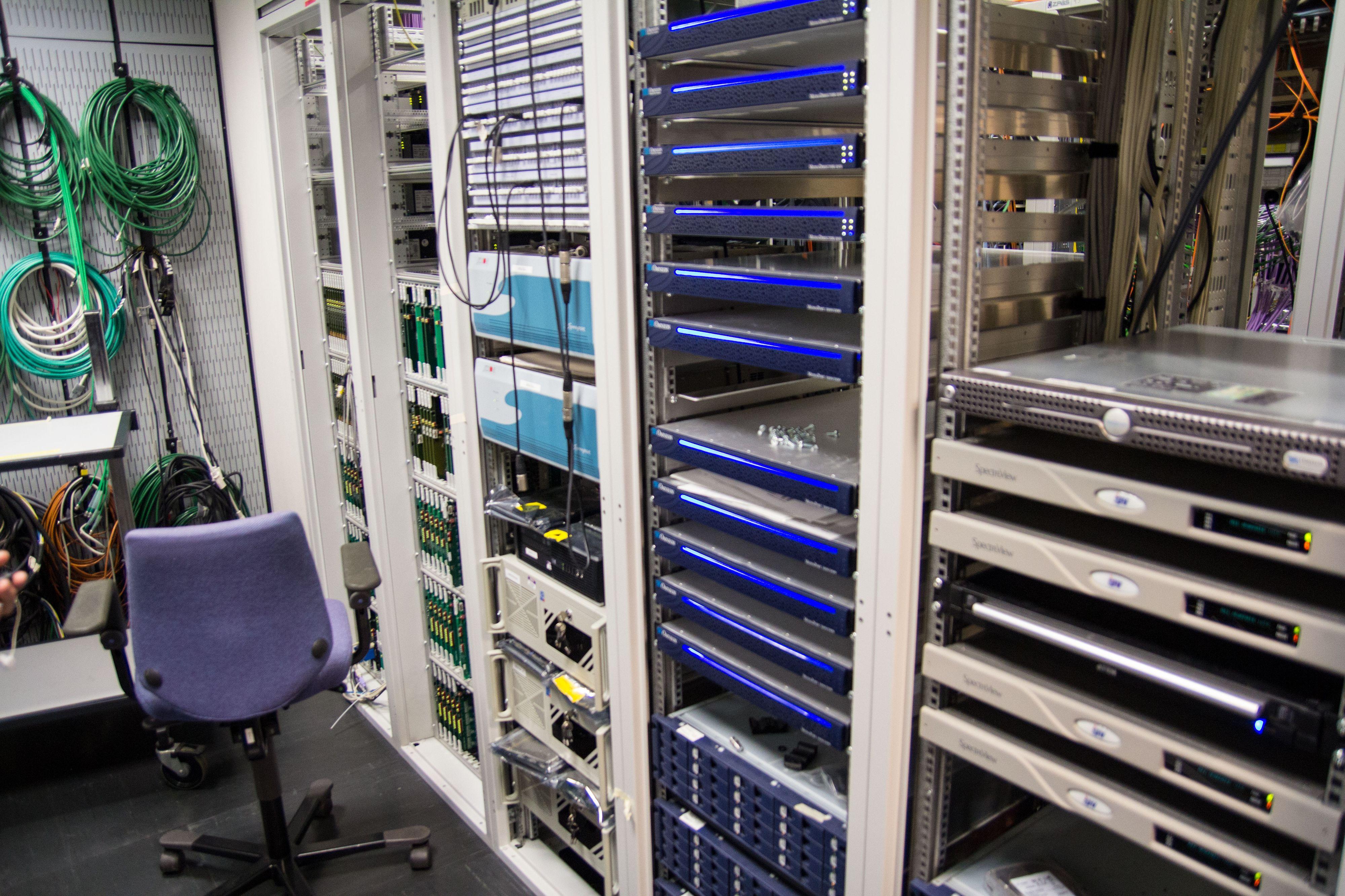 Og det kreves mye datakraft for å produsere ting i HD.Foto: Ole Henrik Johansen / Hardware.no