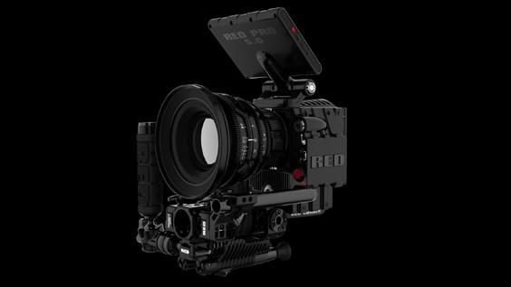 En mulig modulkombinasjon. Red sier kameraet også kan brukes som et vanlig speilrefleks. De kaller det DSCM (Digital Still & Motion Camera).