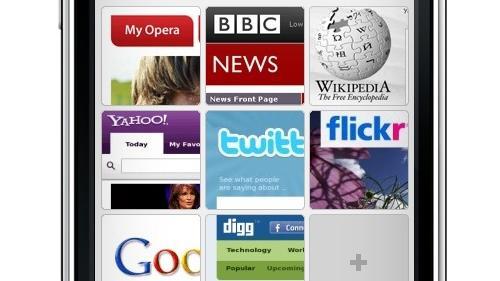 Opera Mini 5 sendt til App Store