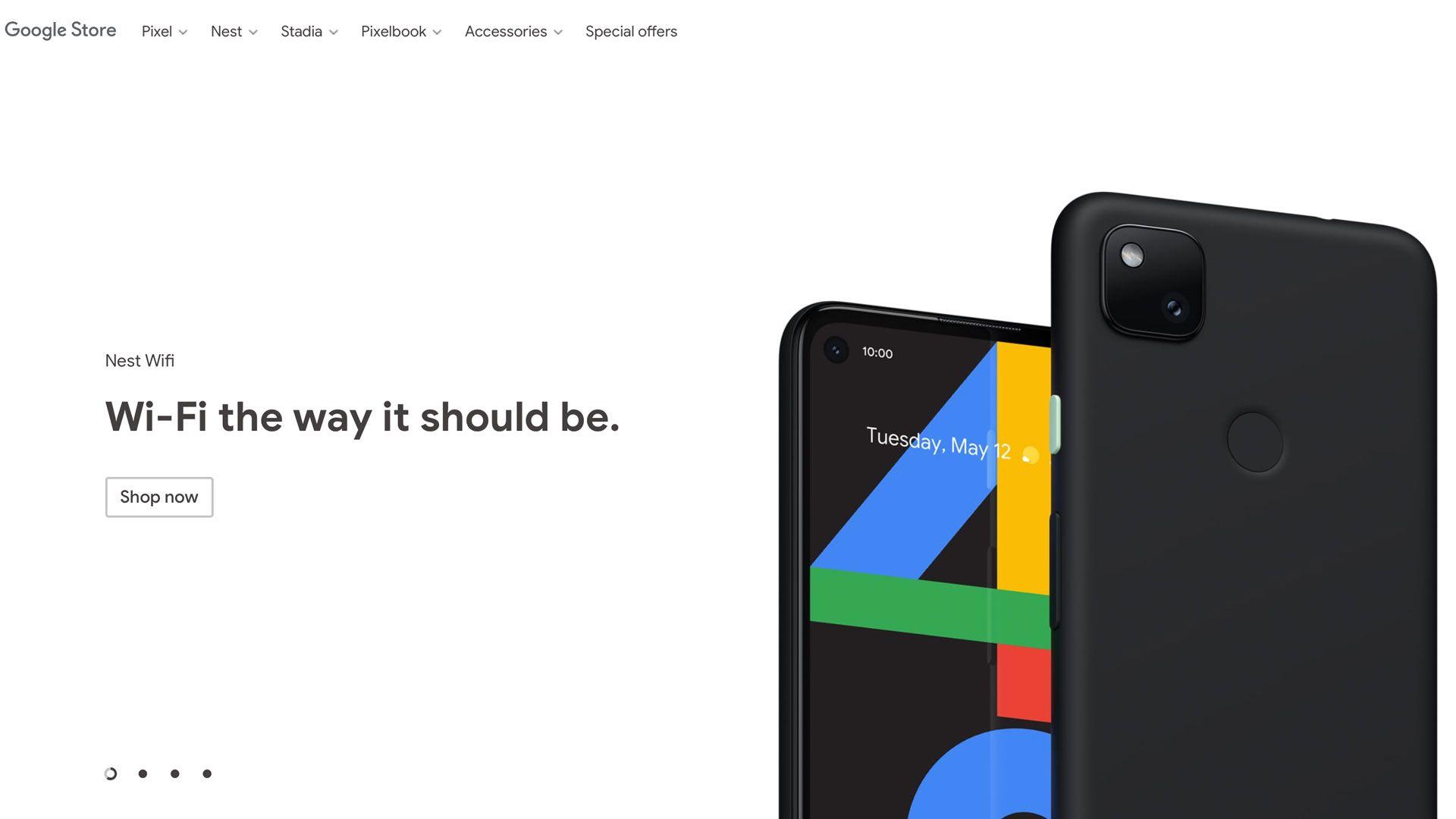 Google lekket Pixel 4A på egen nettside