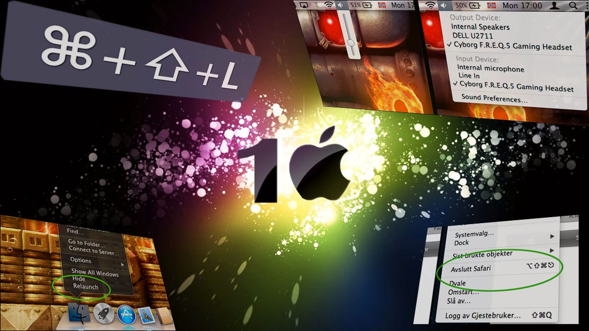 10 herlige Mac triks du ikke visste om Guide Tek.no