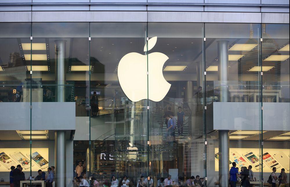 Professoren mener de spektakulære Apple-butikkene kan minner om «kirker». Foto: Lewis Tse Pui Lung/Shutterstock.com