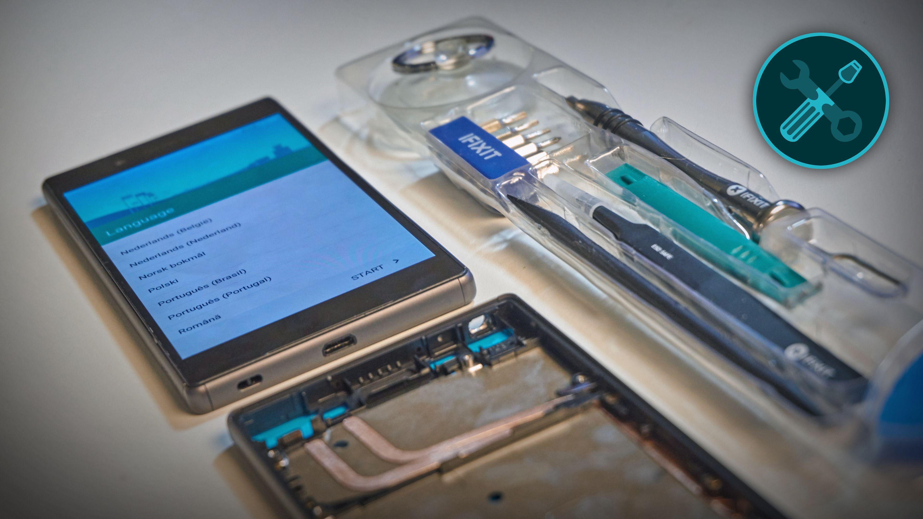 Reparasjon av Xperia Z5