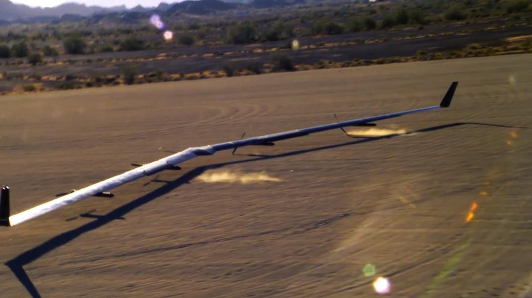Her lander Facebook-flyet som skal bringe Internett til hele verden