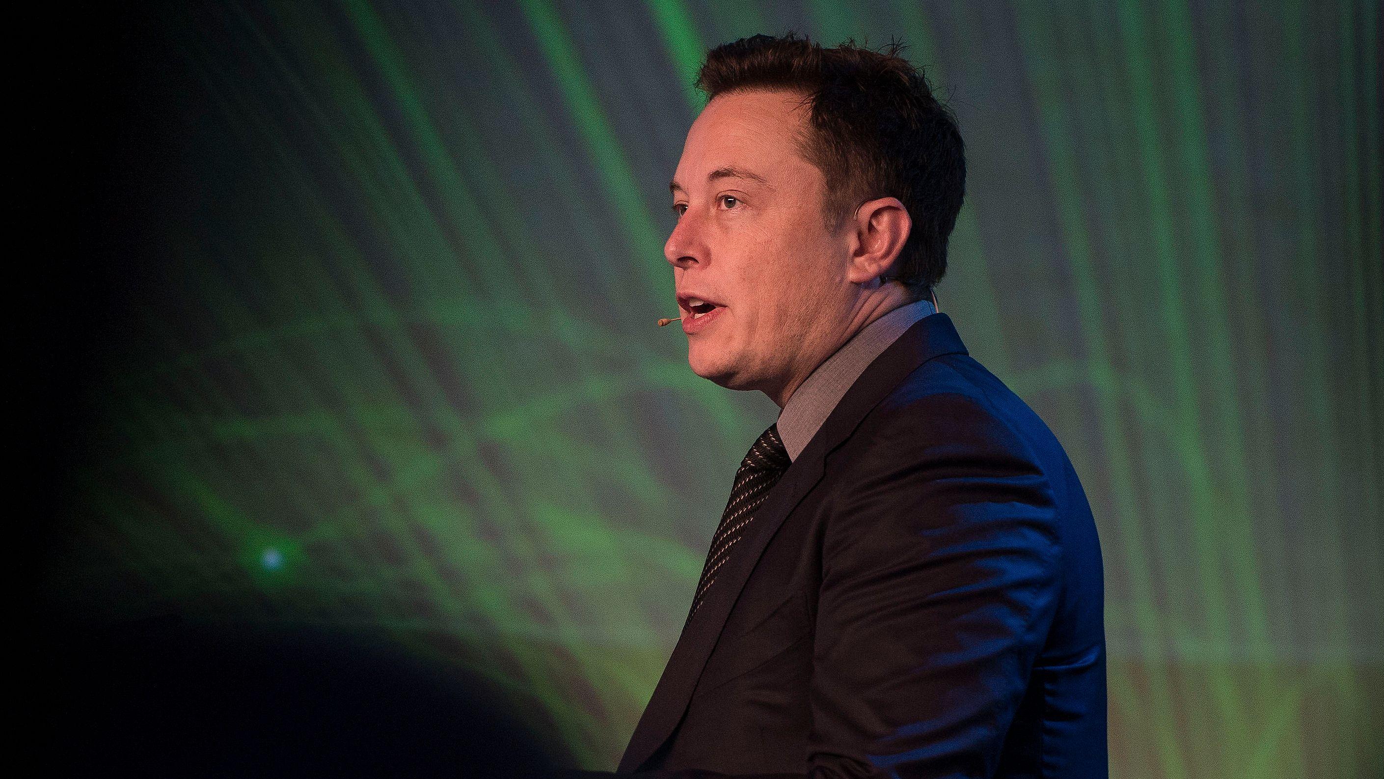Elon Musk i Tesla.Foto: Carina Johansen / NTB Scanpix
