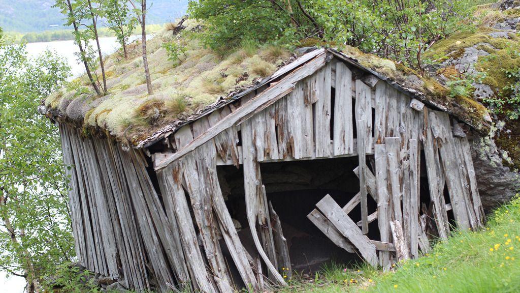 Eksempel på hytte uten bredbåndsforbindelse (Foto: Espen Irwing Swang, Amobil.no).