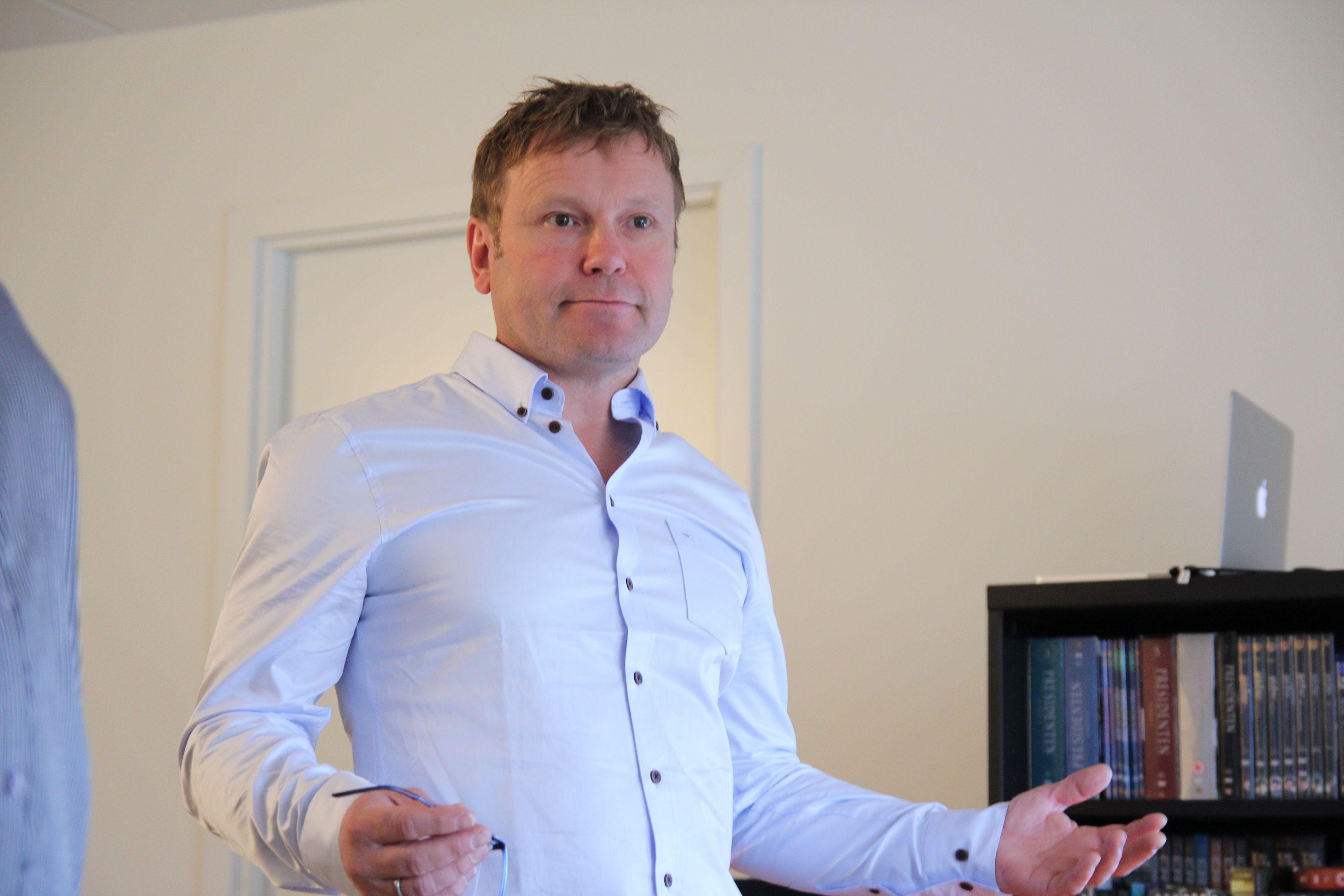 Tore Kristoffersen i Altibox.Foto: Ole Henrik Johansen / Hardware.no