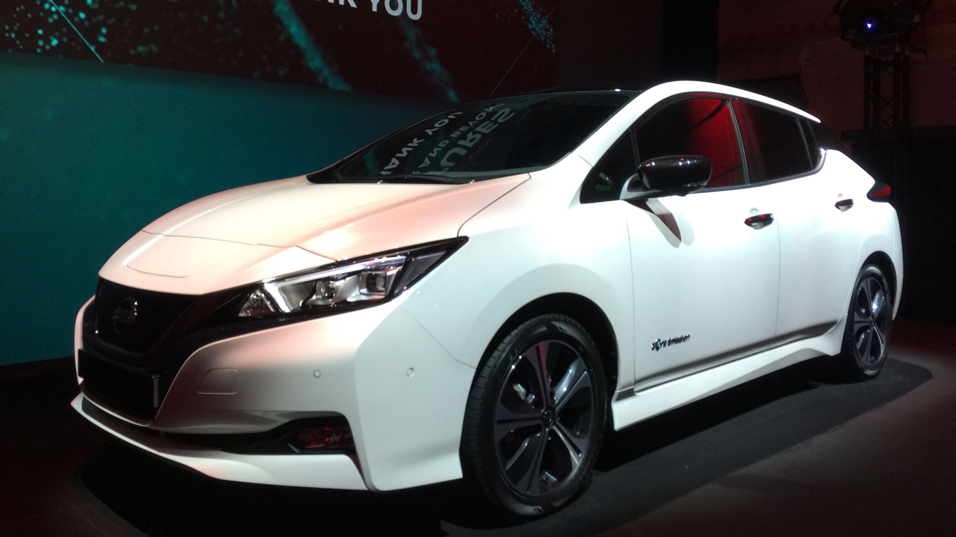 Nye Nissan Leaf.