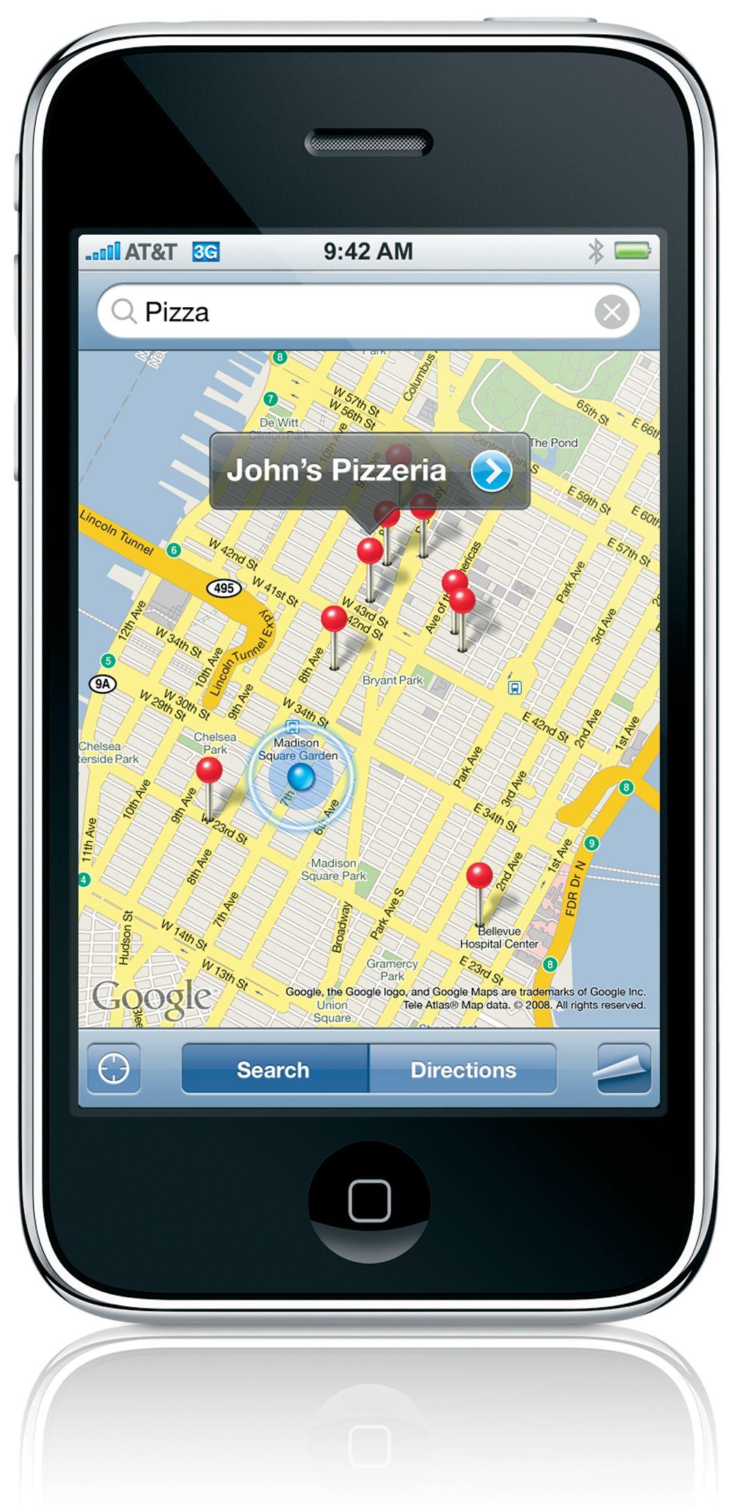 AGPS er også på plass. Dette gjør det mulig å bruke GPS-programmer av ymse slag.