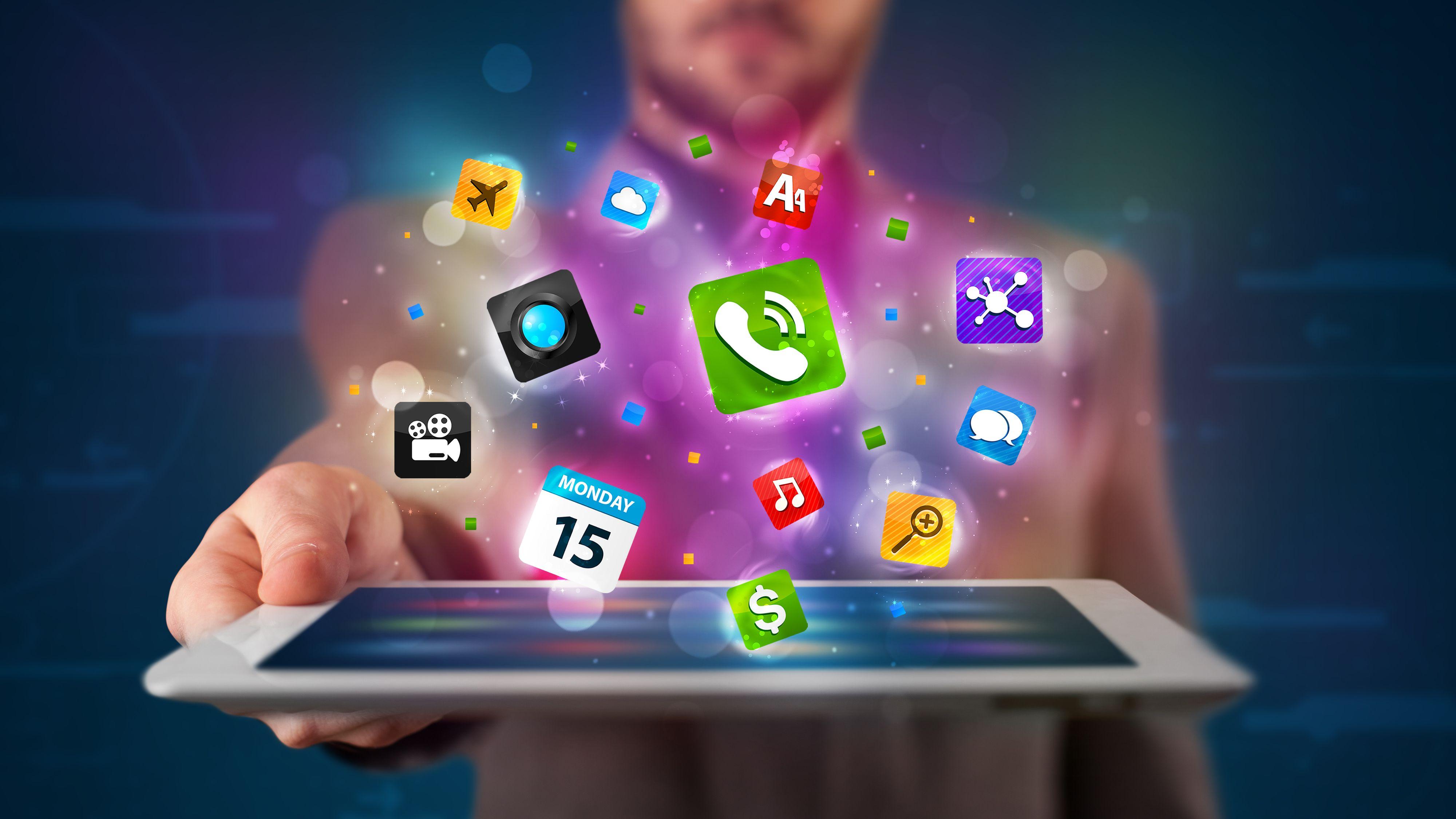 Apper til Android og iPhone