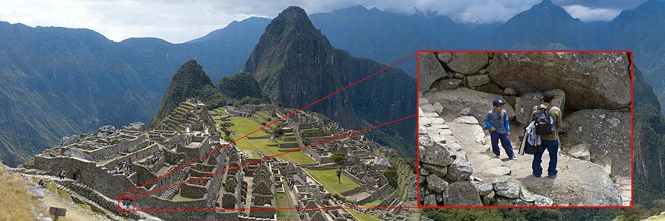 Foreviget Machu Picchu i 16 gigapiksler