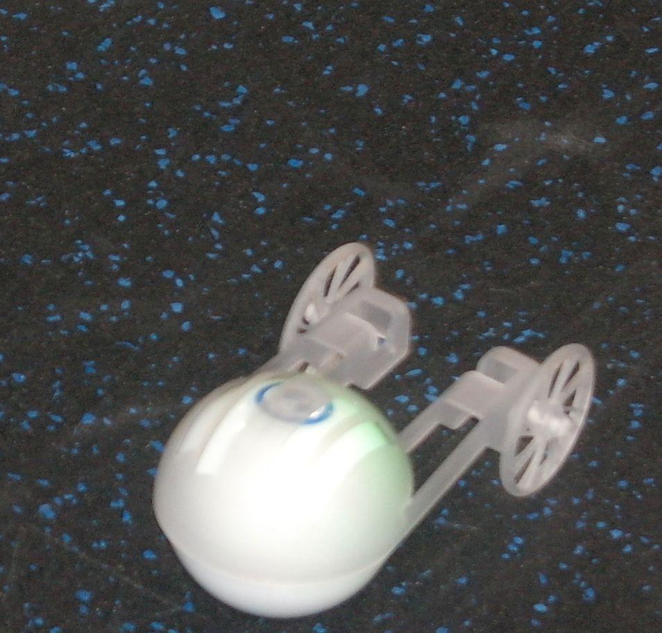 Orbotix har laget en vogn til Sphero.