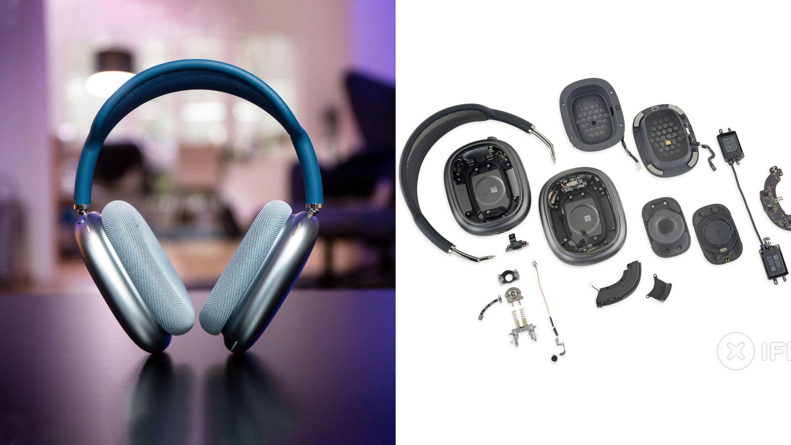 Plukket fra hverandre Airpods Max: – Får Sony og Bose til å se ut som leketøy