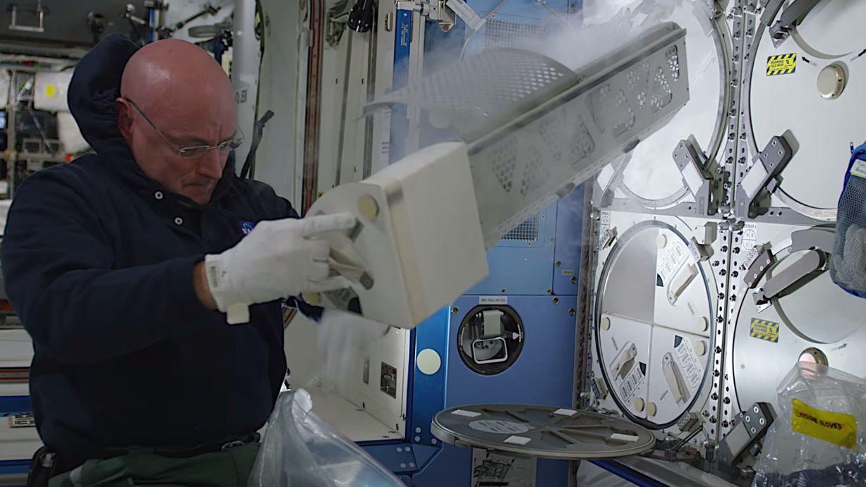 De nye, sylskarpe NASA-videoene skal blant annet gi et bedre innblikk i livet på romstasjonen ISS. Foto: NASA/YouTube